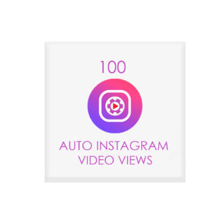 100 auto instagram video views