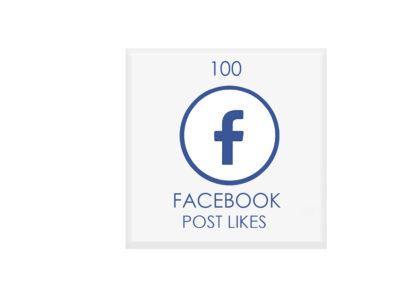 100 facebook POST likes