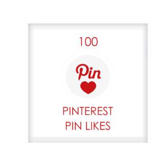 100 pinterest PIN LIKES