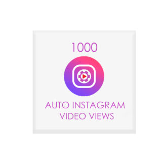 1000 auto instagram video views