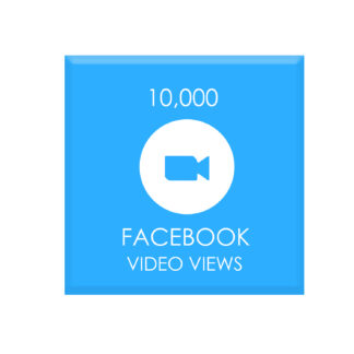 10,000 FACEBOOK VIDEO VIEWS