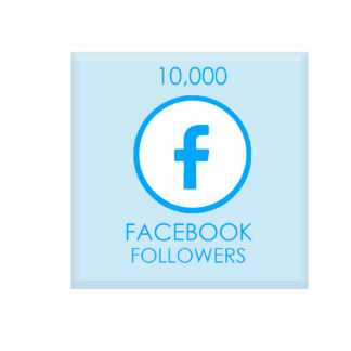 10,000 facebook followers