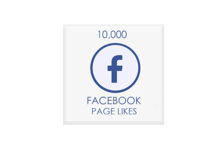 10,000 facebook page likes