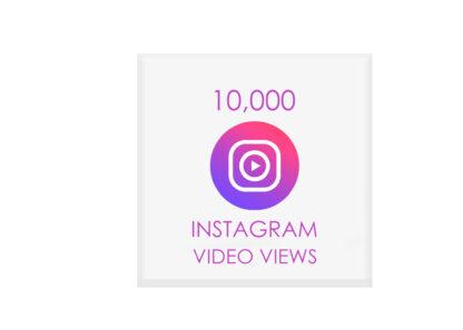 10000 instagram vido views
