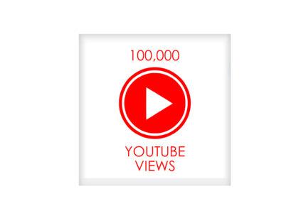 100,000youtube VIEWS