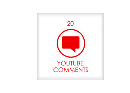 20 youtube COMENTS