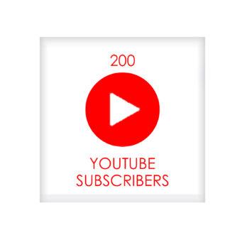 200 youtube subscribers