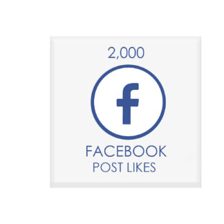 2000 facebook POST likes