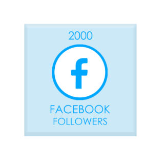 2000 facebook followers