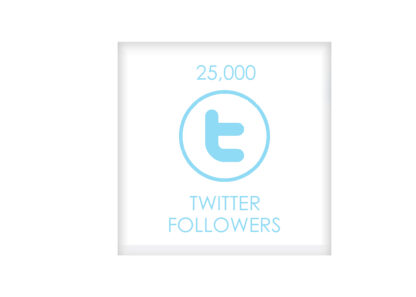 25.000 TWITTER FOLLOWERS