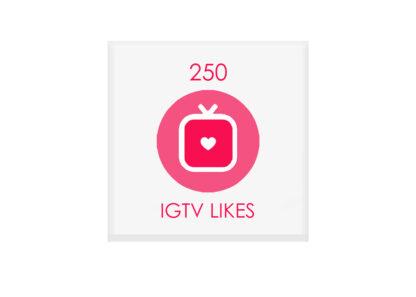 250 igtv likes