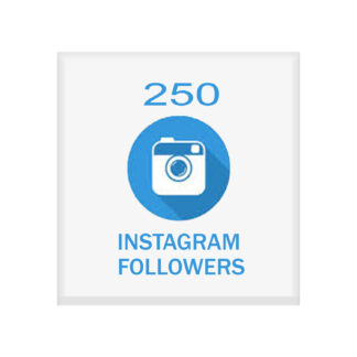 250 instagram followers