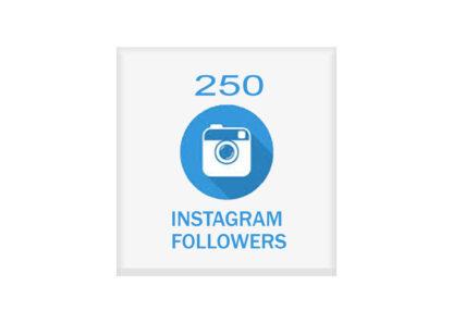 250 instagram followers
