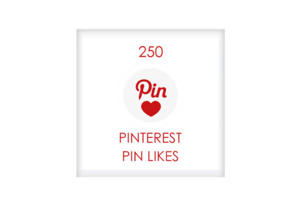 250 pinterest PIN LIKES