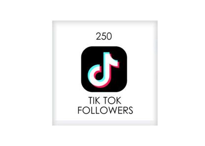 250 tik tok FOLLowers