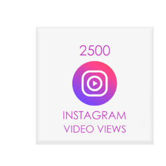 2500 Instagram Views