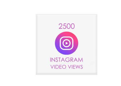 2500 instagram video views