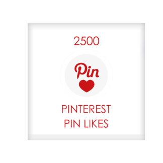 2500 pinterest PIN LIKES