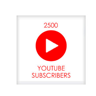 2500 youtube subscribers