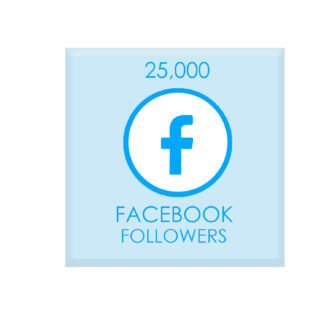 25,000 facebook followers