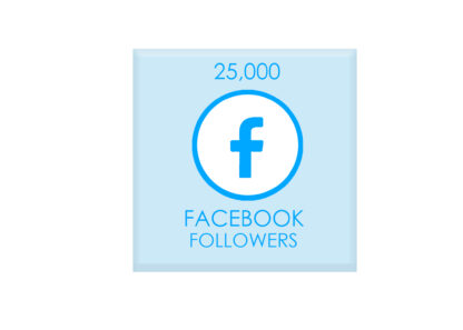 25,000 facebook followers