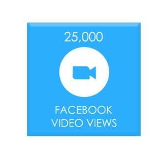 25,000 facebook video views