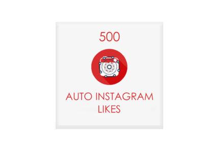 500 auto instagram likes