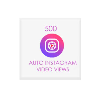 500 auto instagram video views