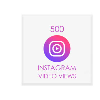 500 instagram video views