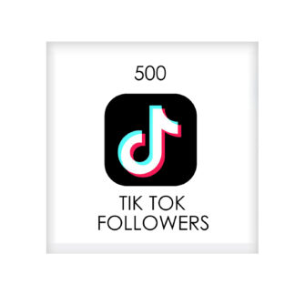 500 tik tok FOLLowers