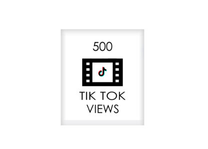 500 tik tok VIEWS