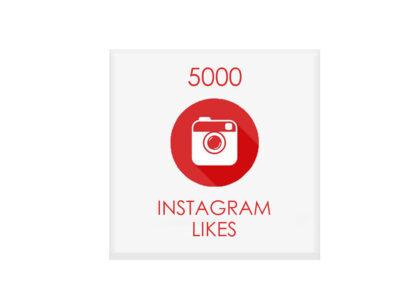 5000 instagram likes