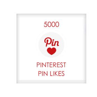 5000 pinterest PIN LIKES