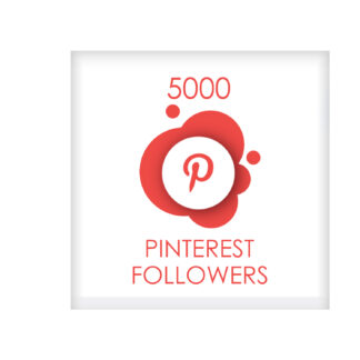 5000 pinterest followers