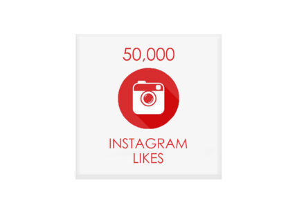 50000 instagram likes