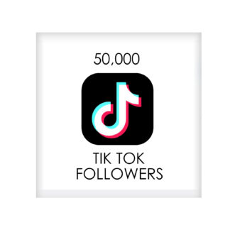 50,000 tik tok FOLLowers