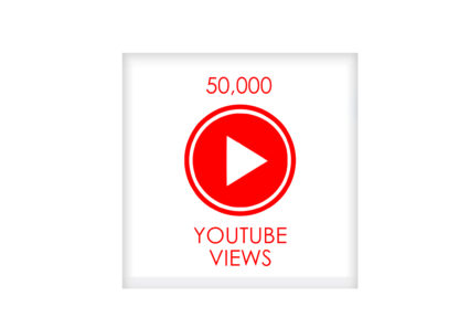 50,000 youtube VIEWS