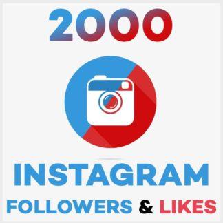 2000 Followers Likes