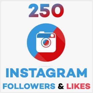 250 Followers Likes