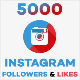 5000 Followers Likes