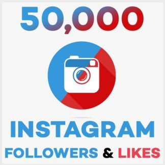 50000 Followers Likes