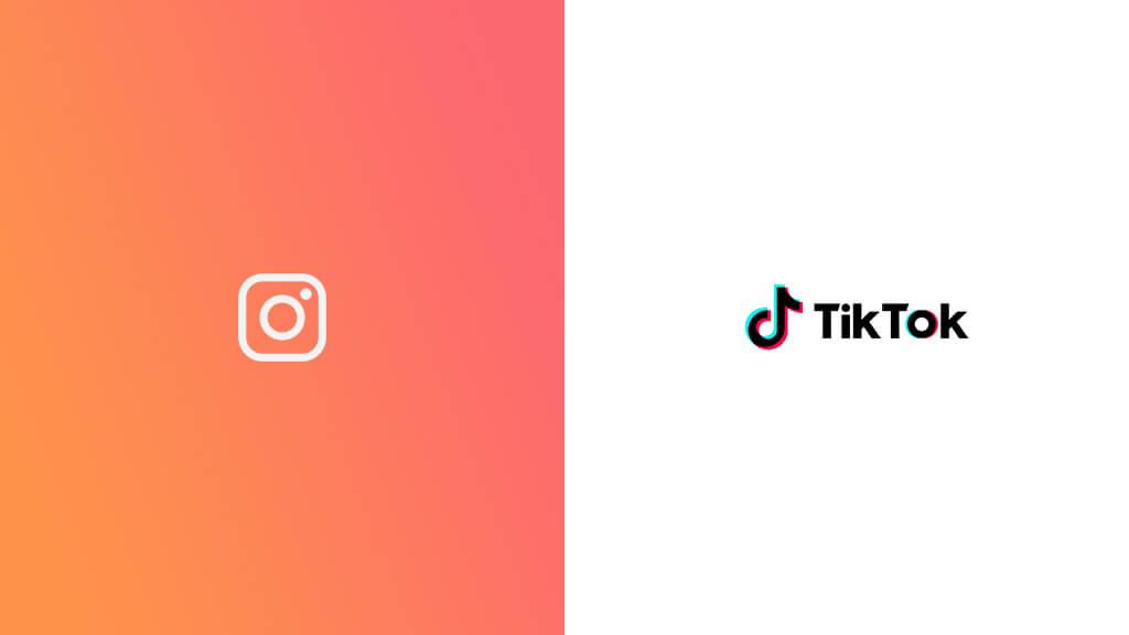 Instagram and TikTok